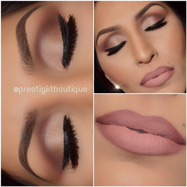 Formal makeup at its finest! This subtle smokey eye with a nude lip is perfect for a wedding, party or special occasion.