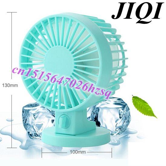 Marvelous Bileaflet Office Desktop USB Mini Fan Small Fan Mute Student Fans