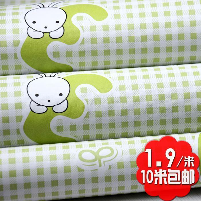 Best 10M 45Cm Baby Bedroom Cartoon Pink Rabbit Eco Friendly Pvc 400 x 300