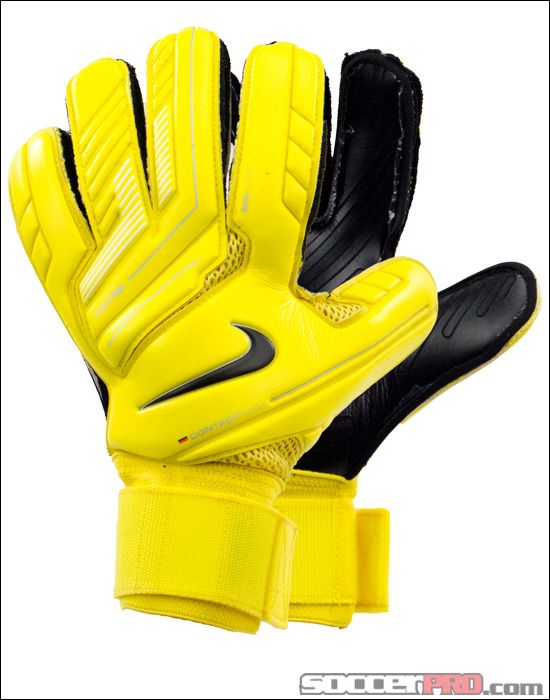 e3a310540 Nike Premier SGT Goalkeeper Gloves - Yellow with Black... 116.99 ...