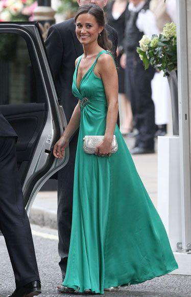 Complementos vestido de fiesta verde