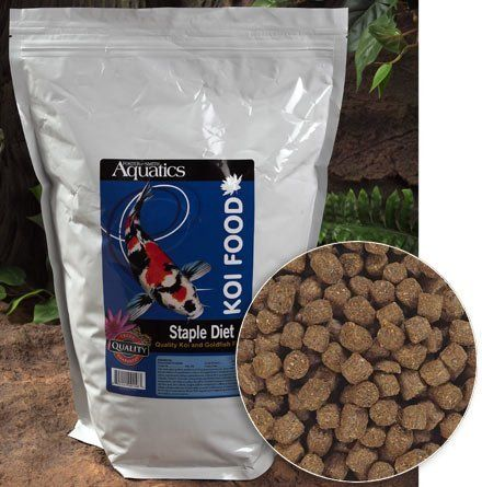 Staple Diet Koi Food 5 Lbs By Doctors Foster And Smith 13 29 Buy Bulk For An Outstanding Bargain On High Quality Staple Koi Food Whether You Re New To Keepi