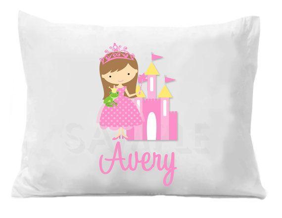 Kids Bedding Princess Pillow Case Kids Pillow Case Kids Pillow Cases Kids Pillows Personalized Pillow Cases