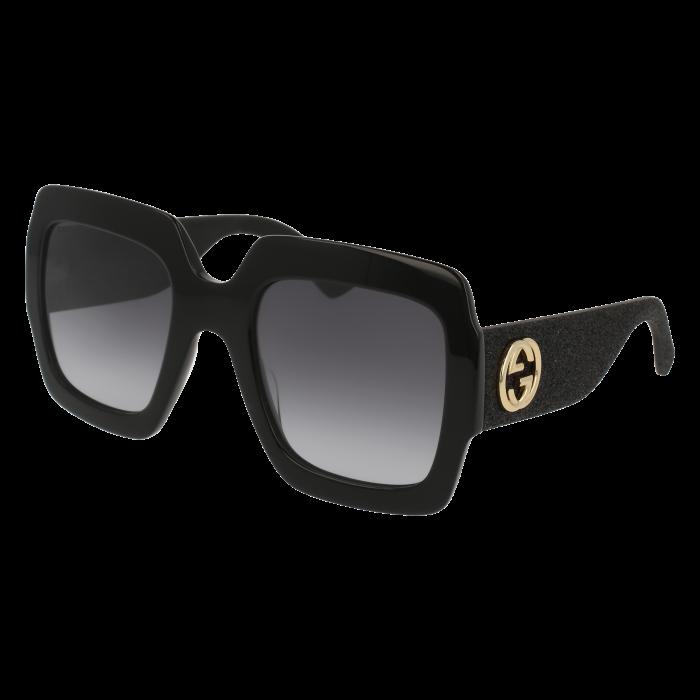 ab56efdabf GUCCI GG0102S 001 54 | e-shop | Gucci sunglasses, Sunglasses, Gucci ...
