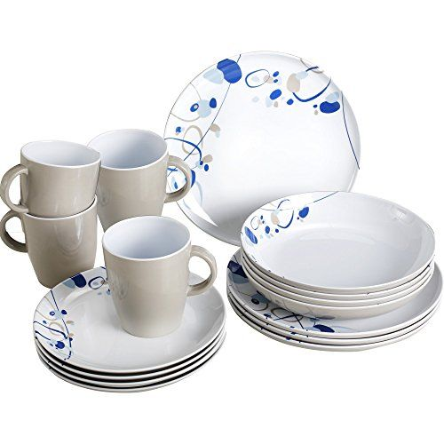 Melamine Dinner Set Plates Bowls Mugs BBQ Camping Picnic Crockery Terracotta New