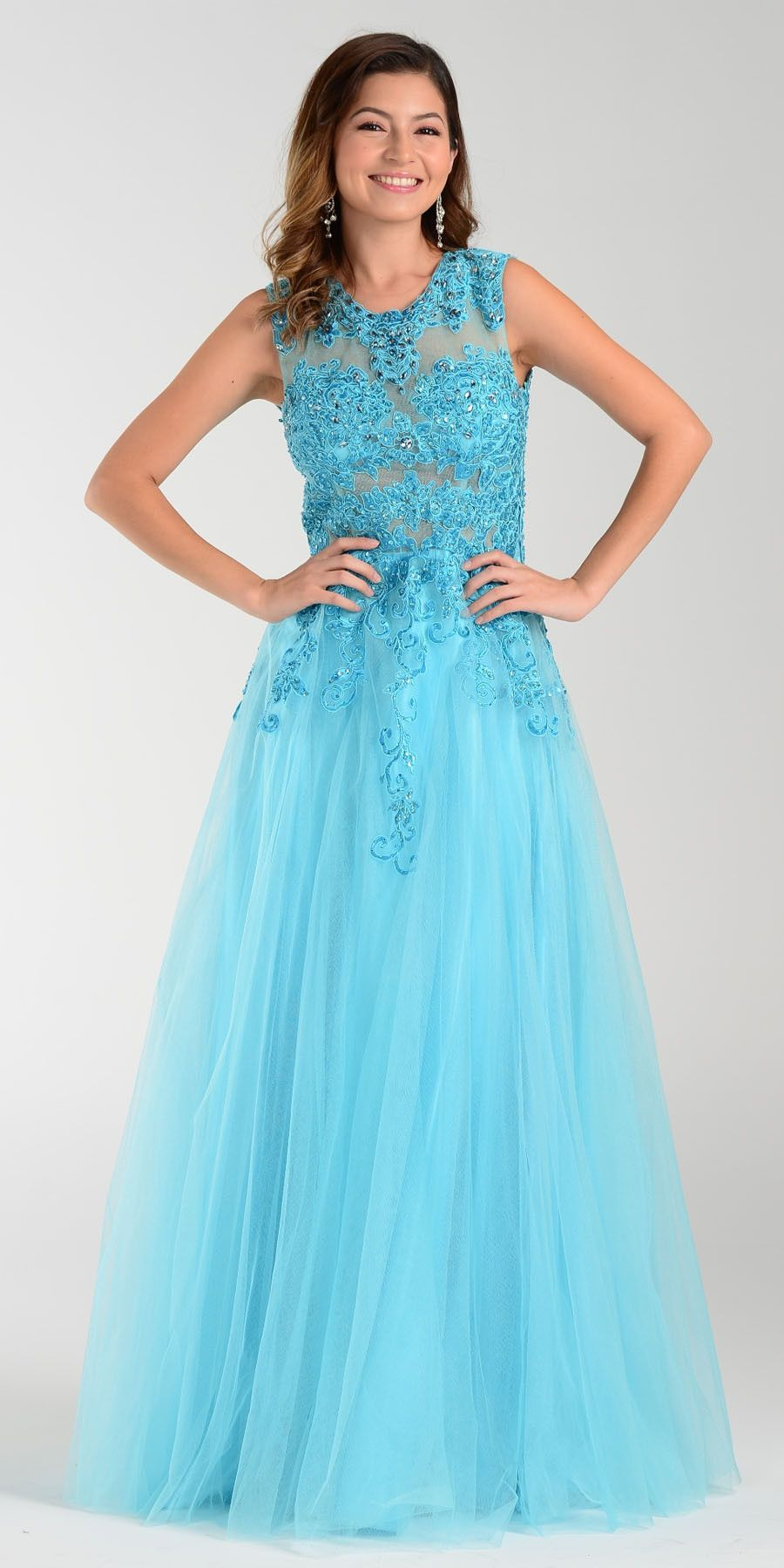 ON SPECIAL LIMITED STOCK - Poly USA 7324 Poofy A Line Prom Dress ...