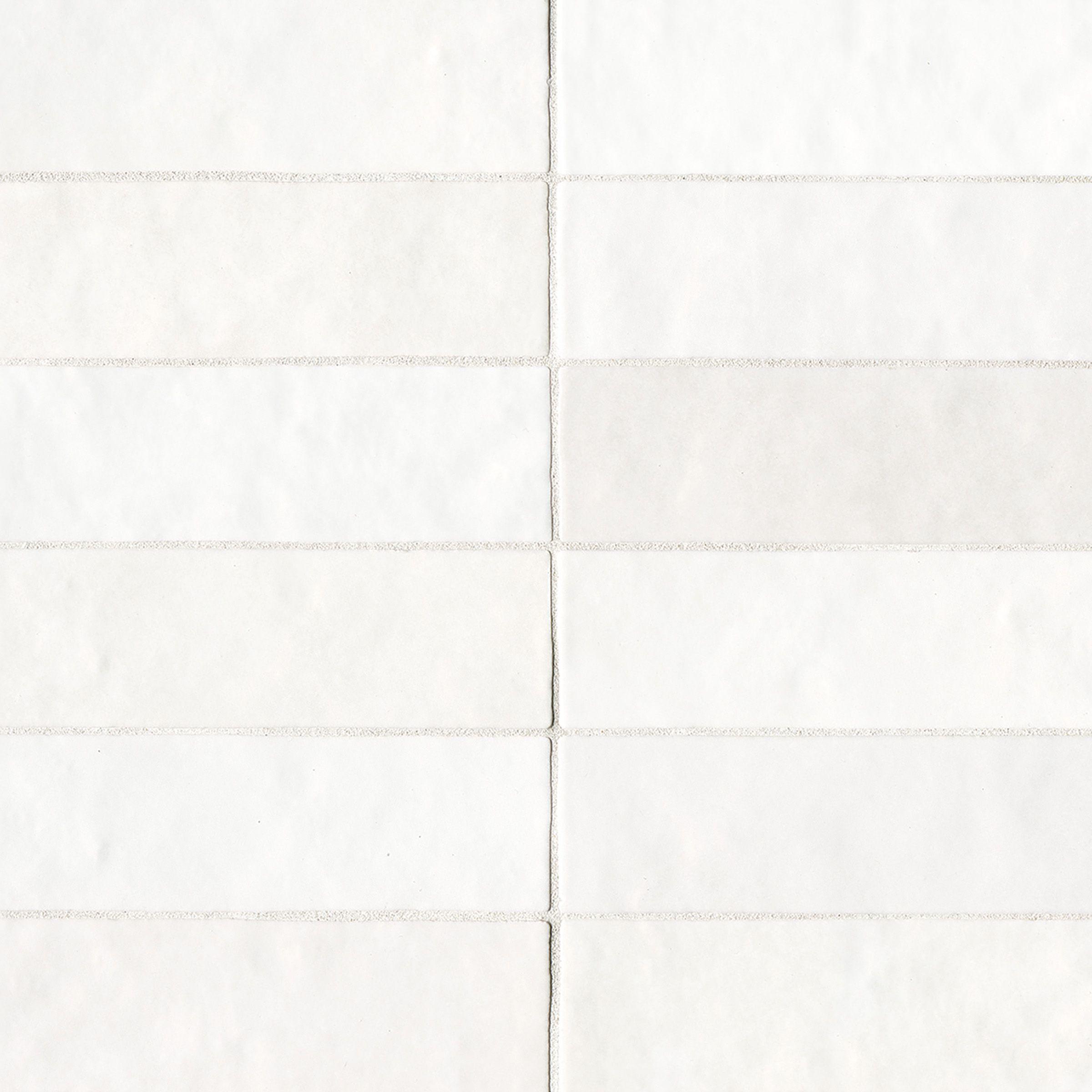 Cloe 2 5 Quot X 8 Quot Wall Tile In White Ceramic Subway Tile