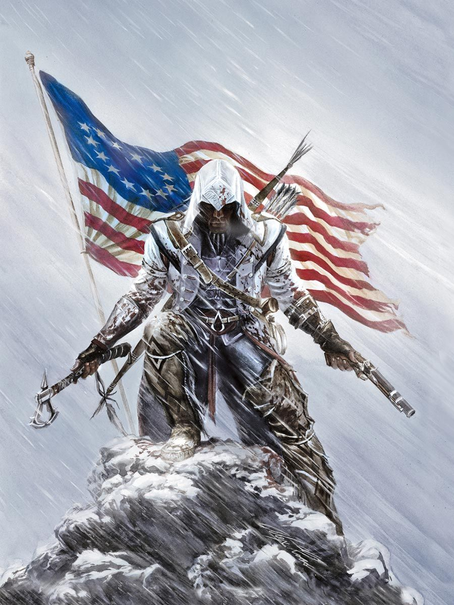 Promo Poster Characters Art Assassin S Creed Iii With Images Assassins Creed Game Assassins Creed Assasins Creed