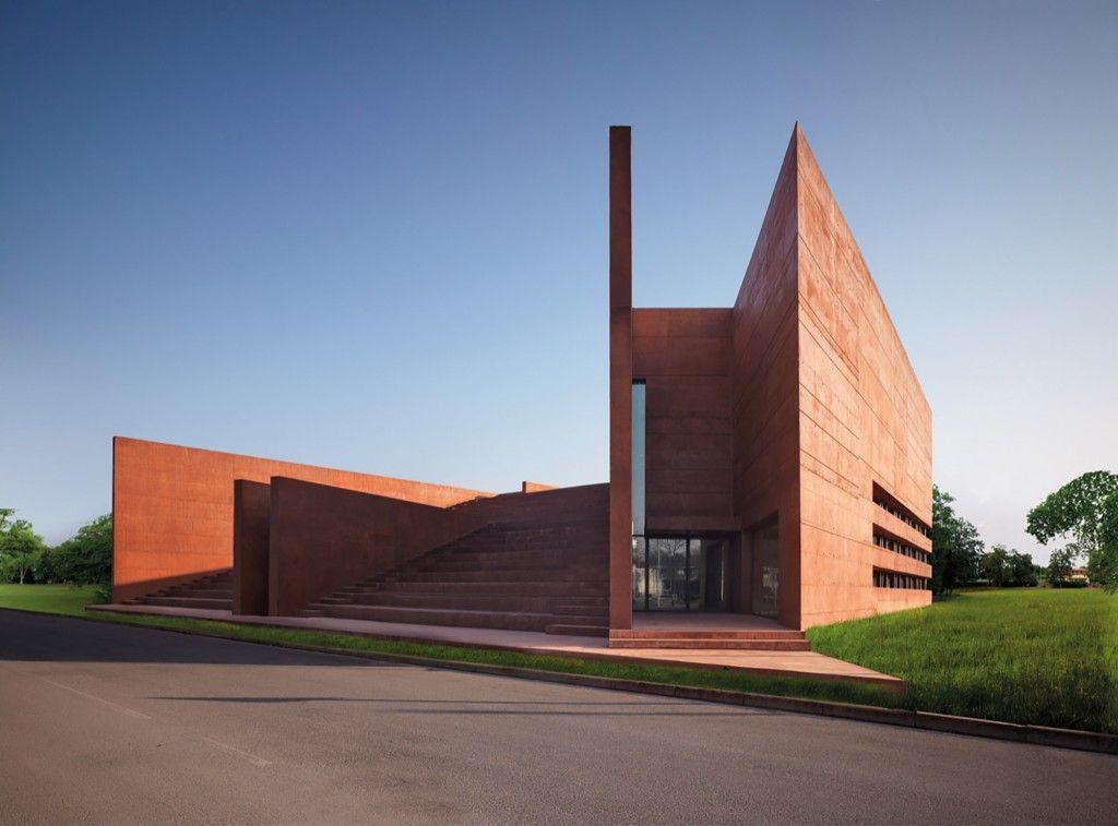 Biblioteca pública y auditorio Curno UBICACIÓN: Italia PROYECTO: Archea Associati Año: 2009