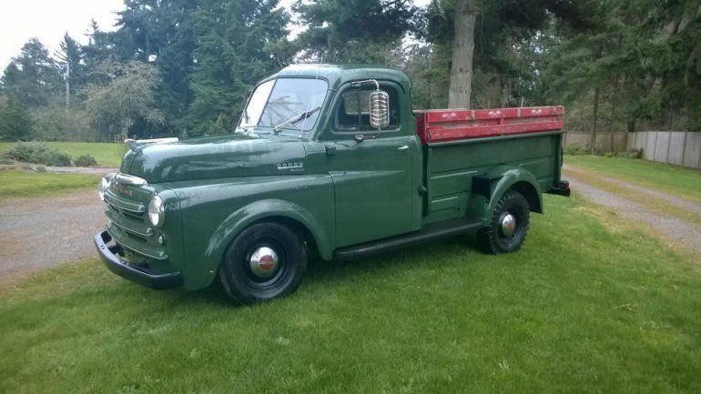1950 dodge 3 4 ton pickup for sale 1781237 hemmings motor news pickups vans pinterest. Black Bedroom Furniture Sets. Home Design Ideas