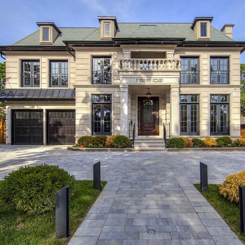 Custom Home Designs Toronto: The Second Story Landing In This Toronto Home Is Amazing