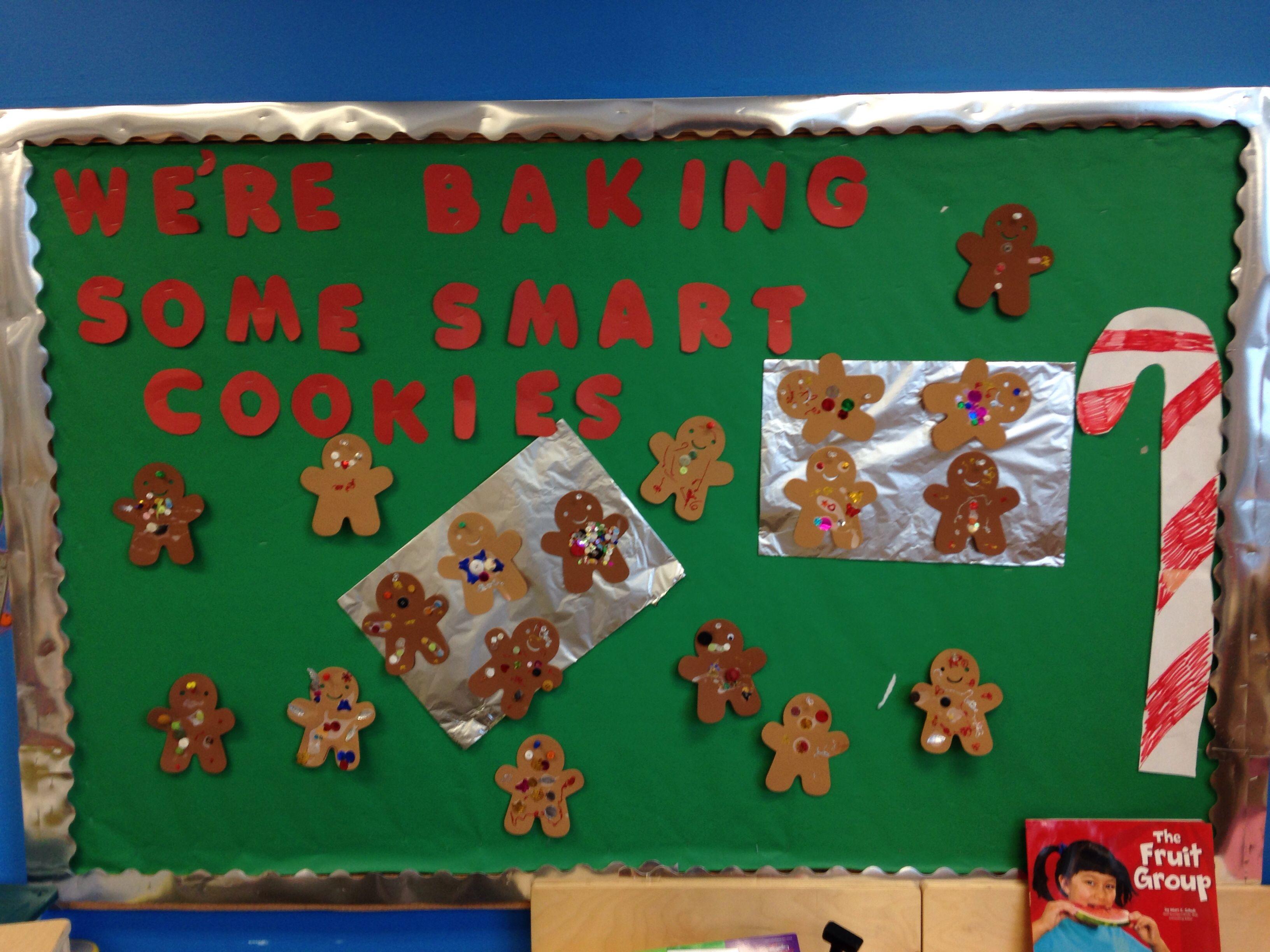 Gingerbread Bulletin Board