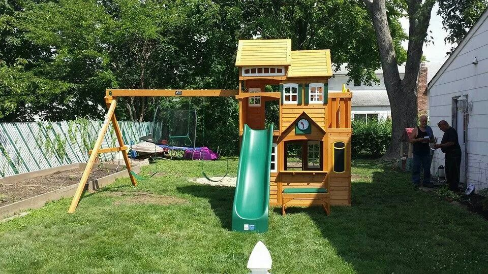 Cedar Summit Mount Forest Lodge Playset from @Costco ...