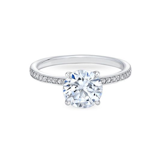 Four Pointed Pave Blossom