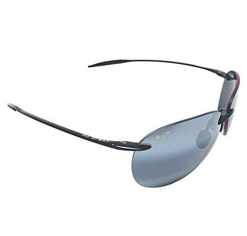 New Maui Jim Sugar Beach 421-02 Gloss Black/Neutral Grey Polarized Sunglasses. Made in Japan. MSRP:$169.00. All Items Include Maui Jim Case. Free Shipping within the USA.