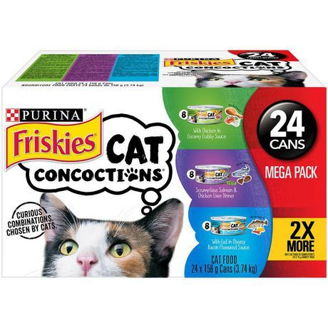 Purina Friskies Cat Concoctions Wet Cat Food Variety Pack