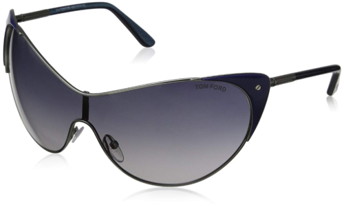 1beb20f7738 Authentic TOM FORD 0364 - 89W Sunglasses Blue Silver   Blue Gradient NEW  (eBay Link
