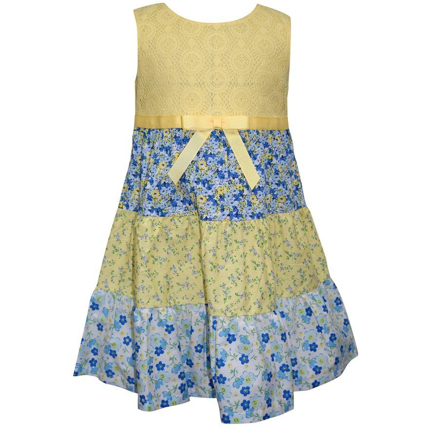 c18af3df86c6 Girls 4-6x Blueberi Boulevard Floral Sundress