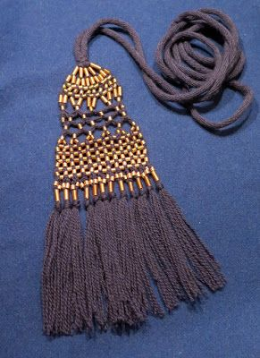 Male tassel belt, inspired by Eura Luistari grave 281. Finnis iron age. Photo: Mervi Pasanen