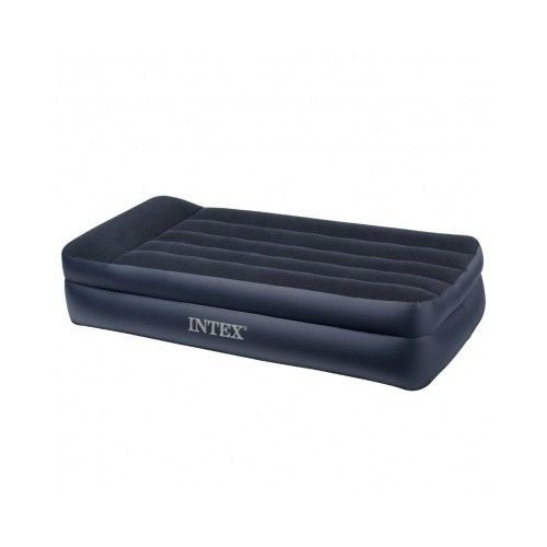Twin Air Bed Mattress Built In Pillow Inflatable Built In Pump Storage Bag Intex Air Bed Intex Bag Storage