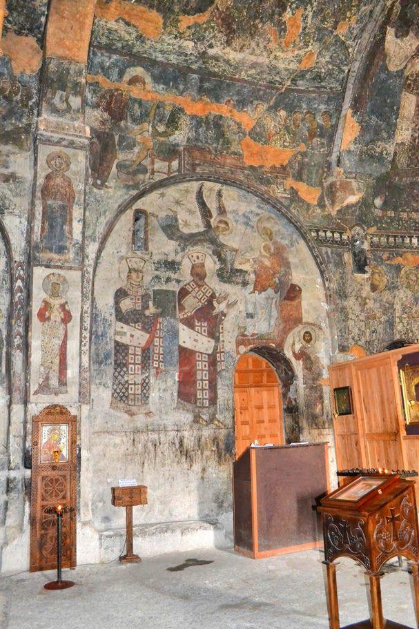 vardzia cave monastery georgia gruzja the church of ...