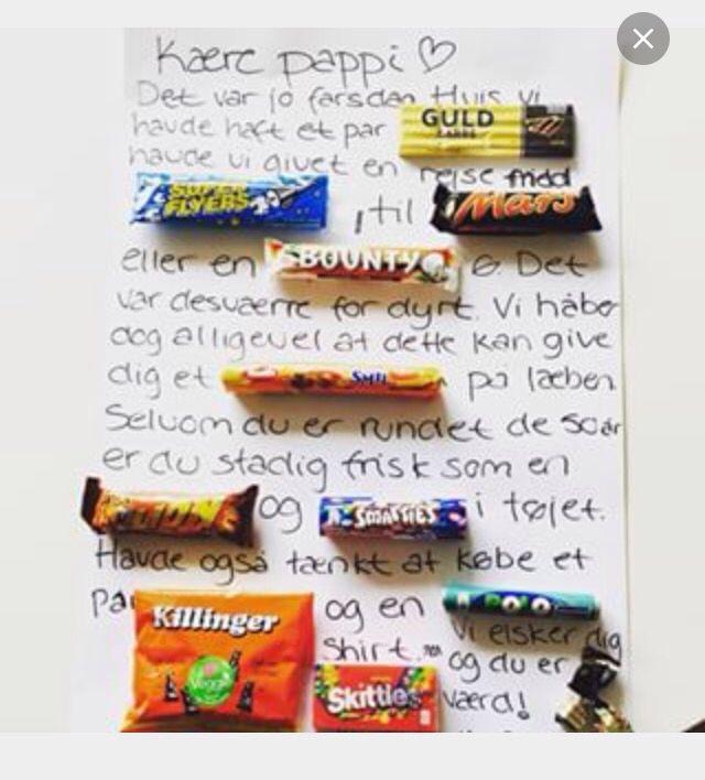 5ceba8f4ad9 Slik brev Gds Håndarbejde, Gaver, Wraps, Halloween, Kreativ, Gaver, Ideer