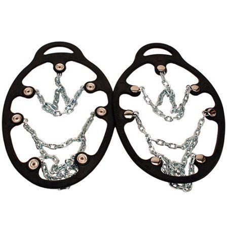 Yaktrax Chains ICEtrekkers, Medium, Silver