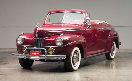 1941 Ford Super Deluxe Convertible Coupe California Old Classic Cars American Classic Cars Ford Classic Cars
