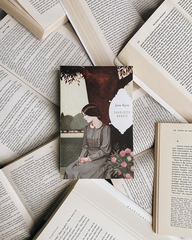 Just a little Tuesday reminder that you can tap into your inner Jane when ya need to 😘🕊#janeeyre #charlottebronte #bookstagram