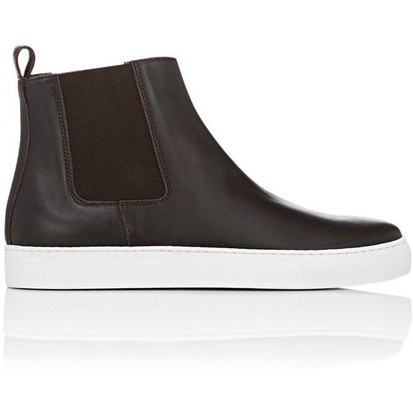 Finishline Cheap Price Mens Leather Chelsea Sneakers Barneys New York Purchase Free Shipping In China CX6zXN