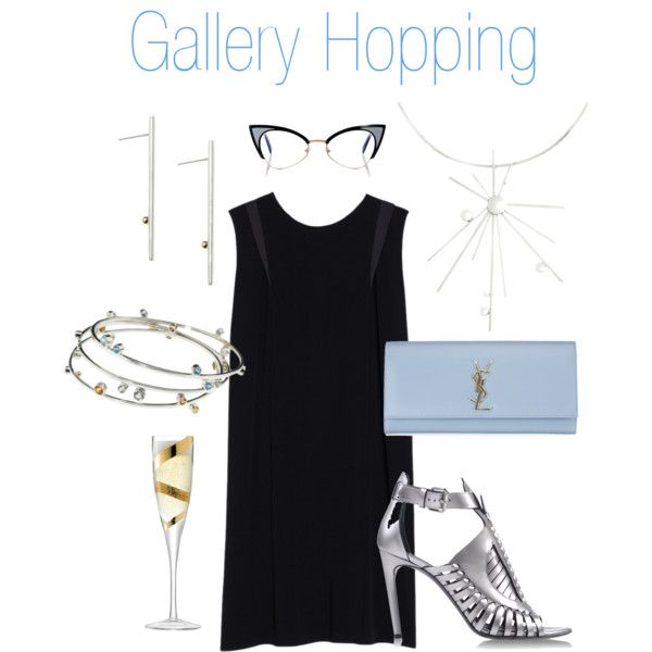 """""""Gallery Hopping"""" by visibleinterest on Polyvore"""