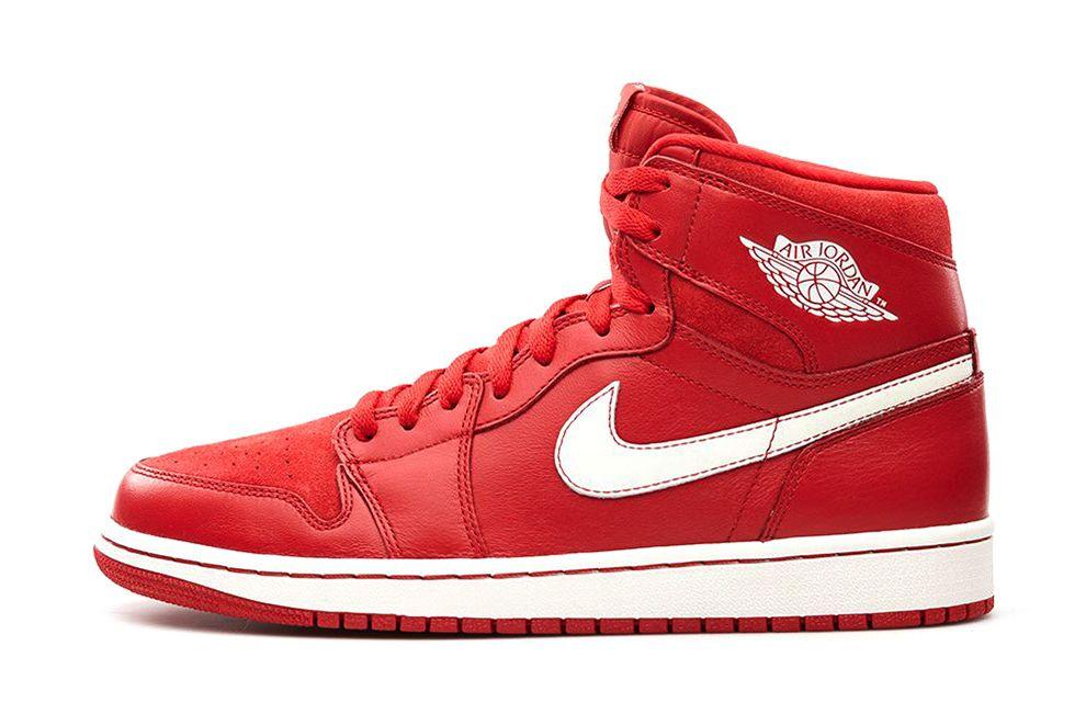 Air Jordan 1 Retro High Og Gym Red With Images Air Jordans