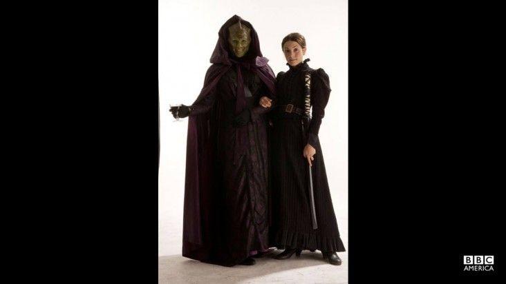 Madame Vastra and Jenny Flint