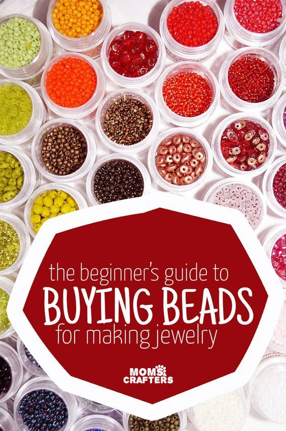 Jewelry making beads for beginners - Buy bead, Jewelry making beads, Jewelry making, Jewelry projects, Jewelery making, Handmade jewelry - Are you just getting started making jewelry  Check out my guide to beads for beginners, to help you navigate the market and not overbuy!