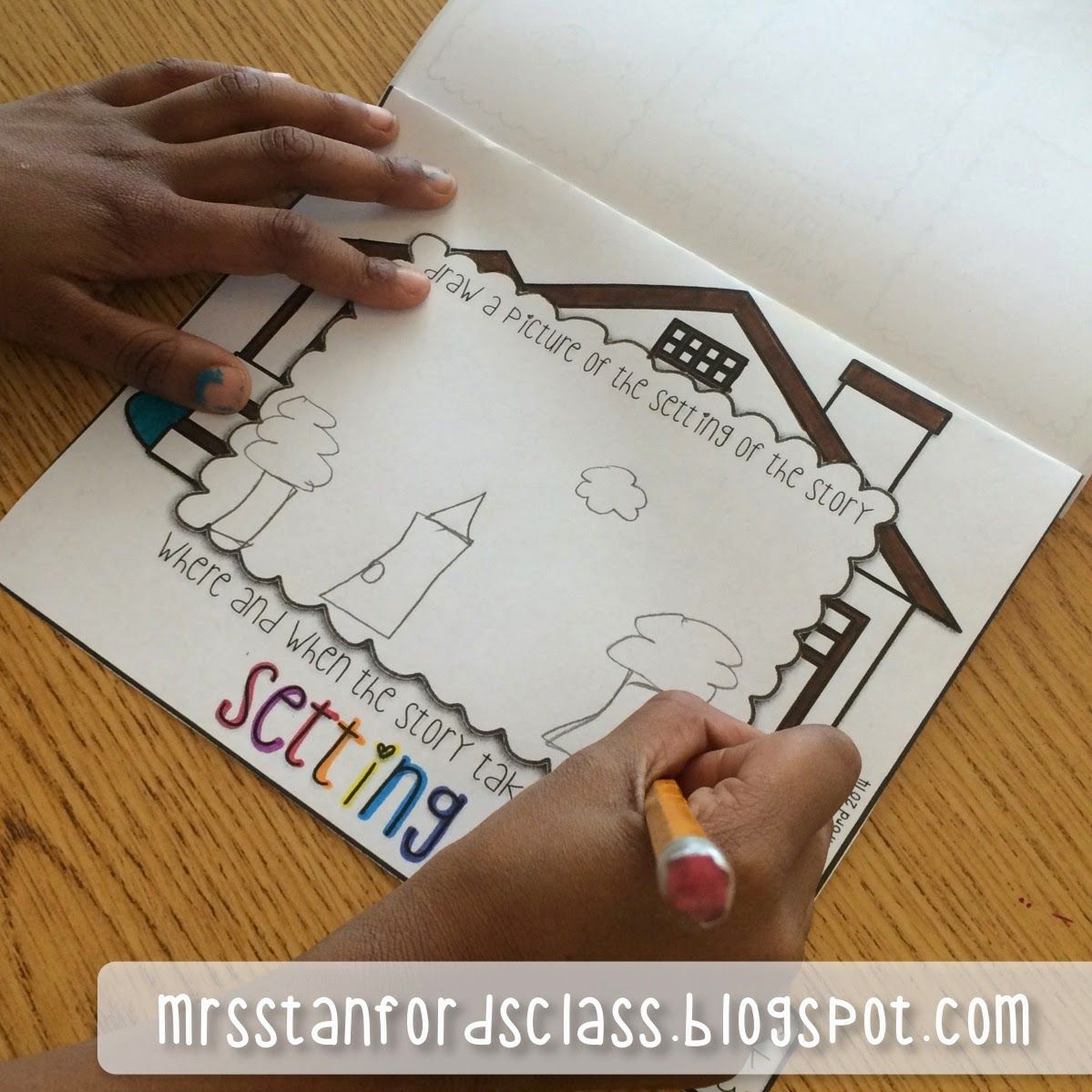 Hump Day Highlight Story Elements Flipbook This Product