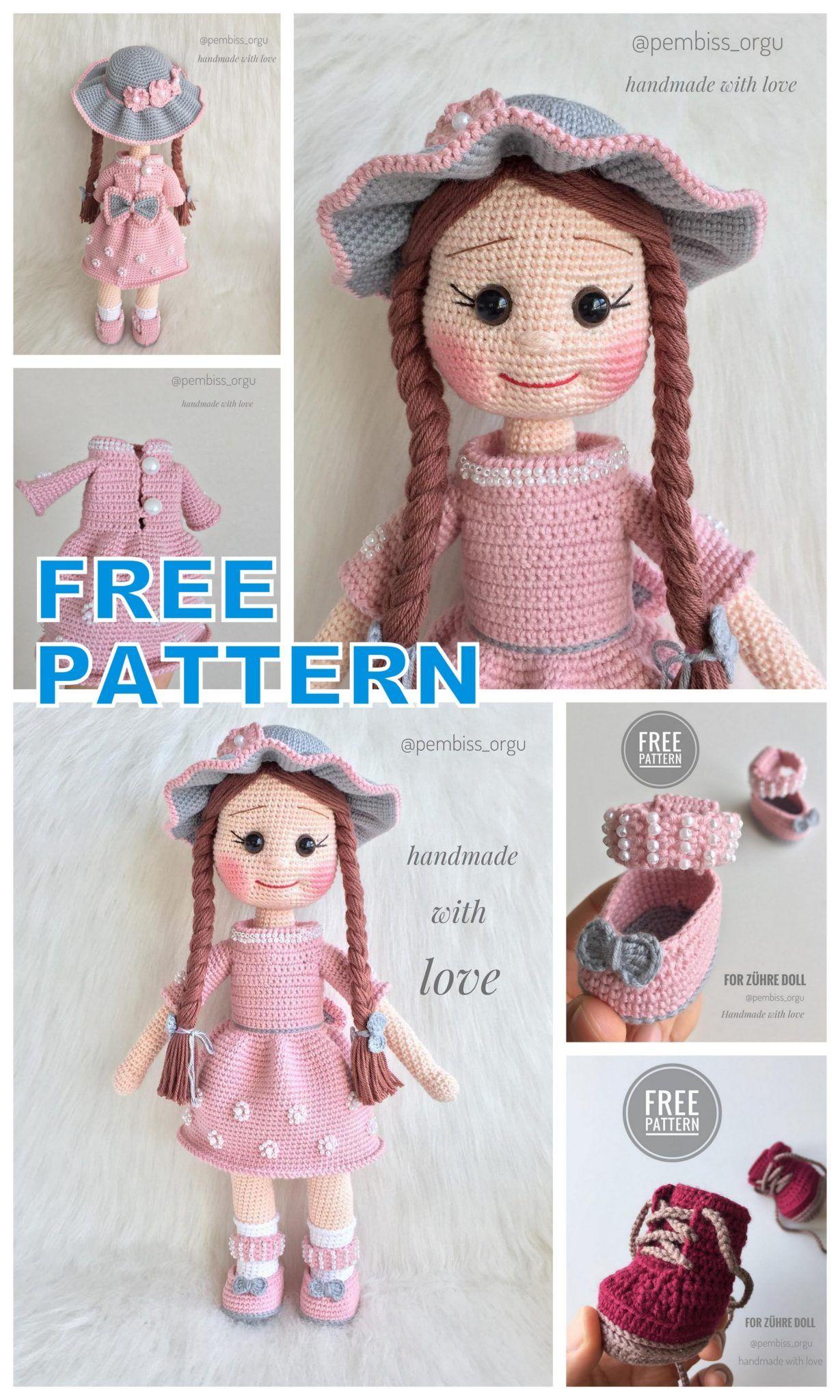 Beautiful Lady Crochet Elephant - Pattern Center | 2048x1229