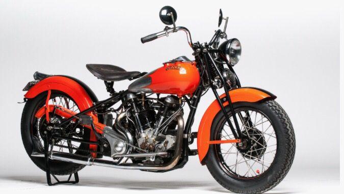 Great vintage motorbike