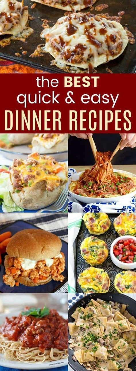 Best Quick Easy Dinner Recipes images