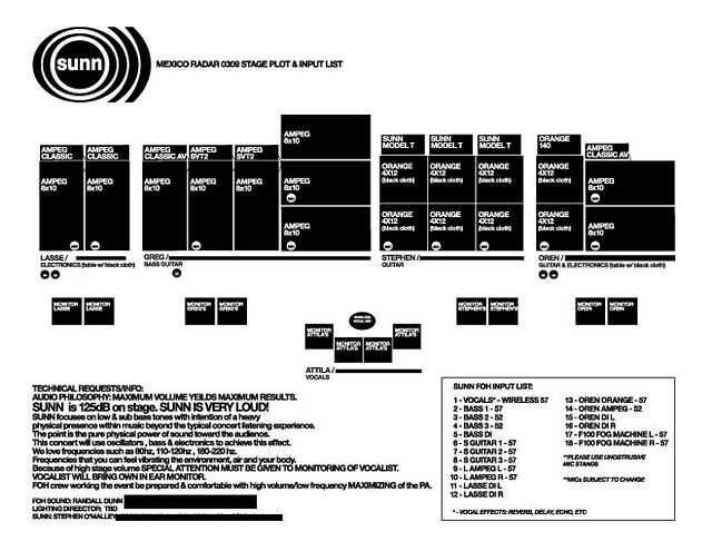 sunn amp schematic volume to space  with images  sunn o  gig posters  doom  volume to space  with images  sunn o