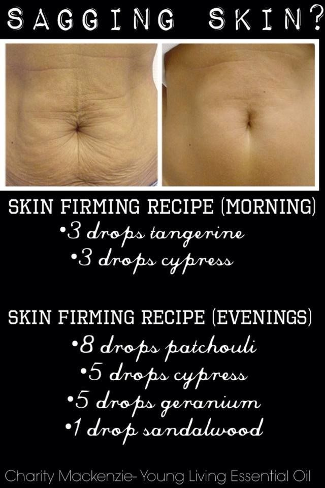 Natural Skin Firming Oils