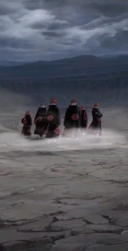   Save & Follow   Six Paths of Pain • Live Wallpaper • Naruto Shippuden