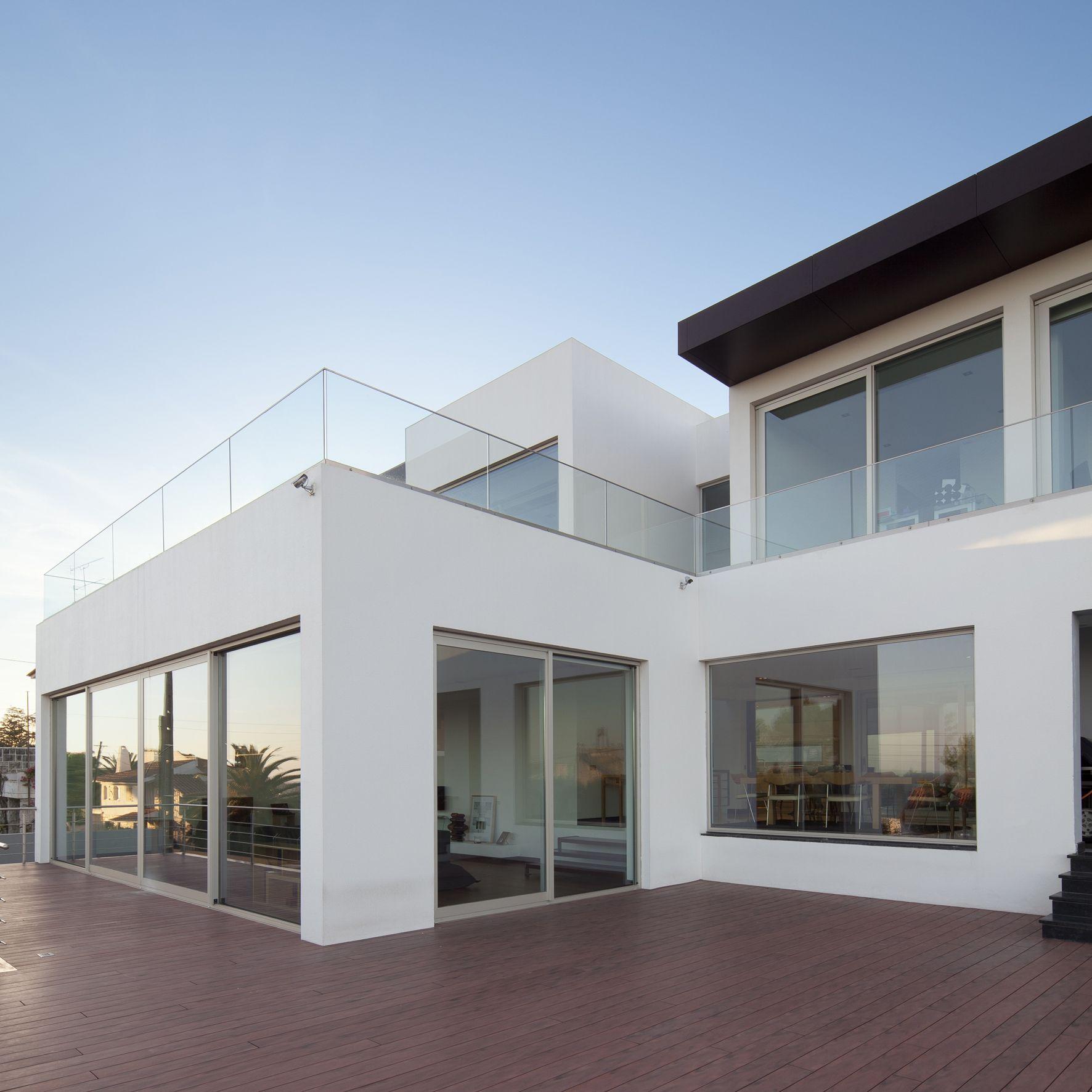 menuiseries aluminium kawneer villa carlos portugal. Black Bedroom Furniture Sets. Home Design Ideas
