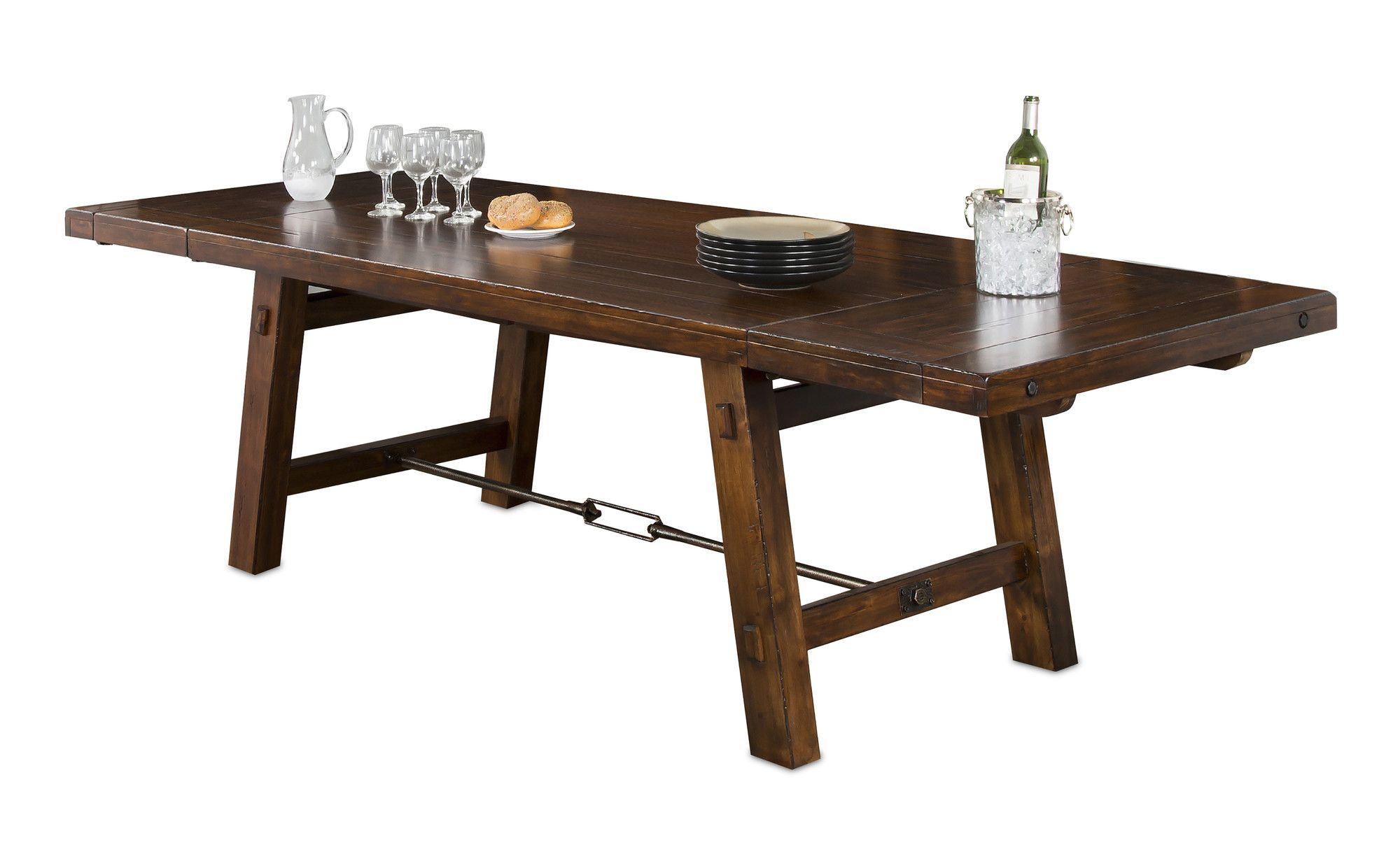 ee0a98dff5bc Hardin Extendable Solid Wood Dining Table | Products | Solid wood ...