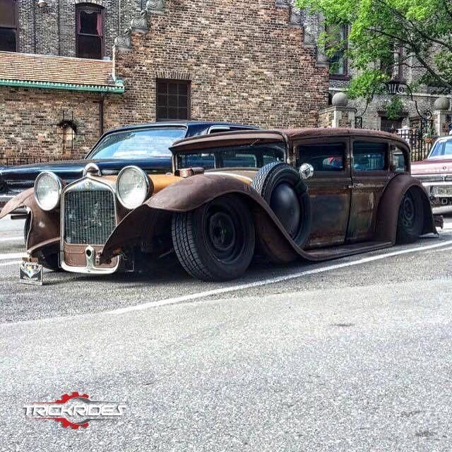 rat rod trucks pictures