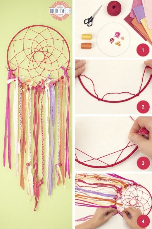 Traumfanger Basteln Kids Pinterest Crafts Diy And Dream Catcher