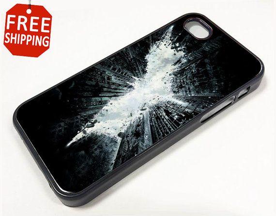 BATMAN The Dark Knight Rises Logo iPhone 5 Case..... Love it!!!!!!