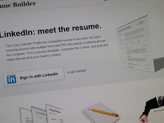 Use Linkedin Labs To Create A Resume In A Pinch Create A Resume Resume Linkedin Tips