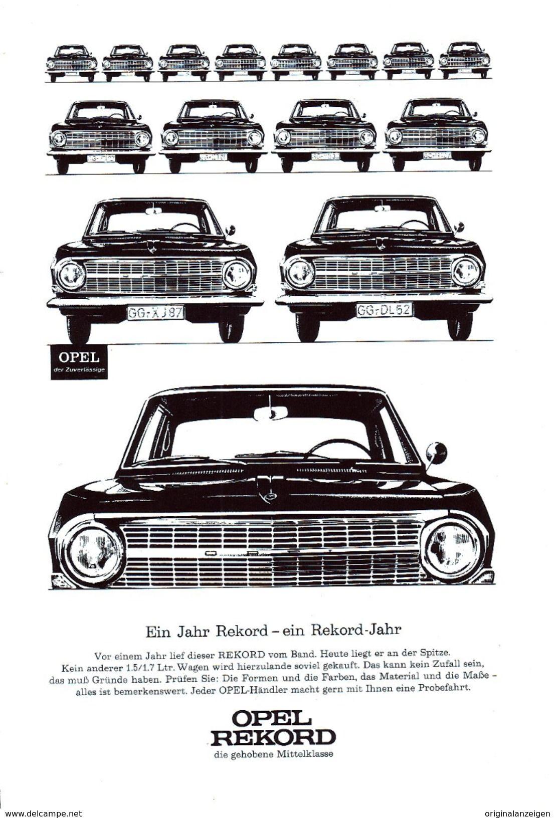 Original Werbung Anzeige