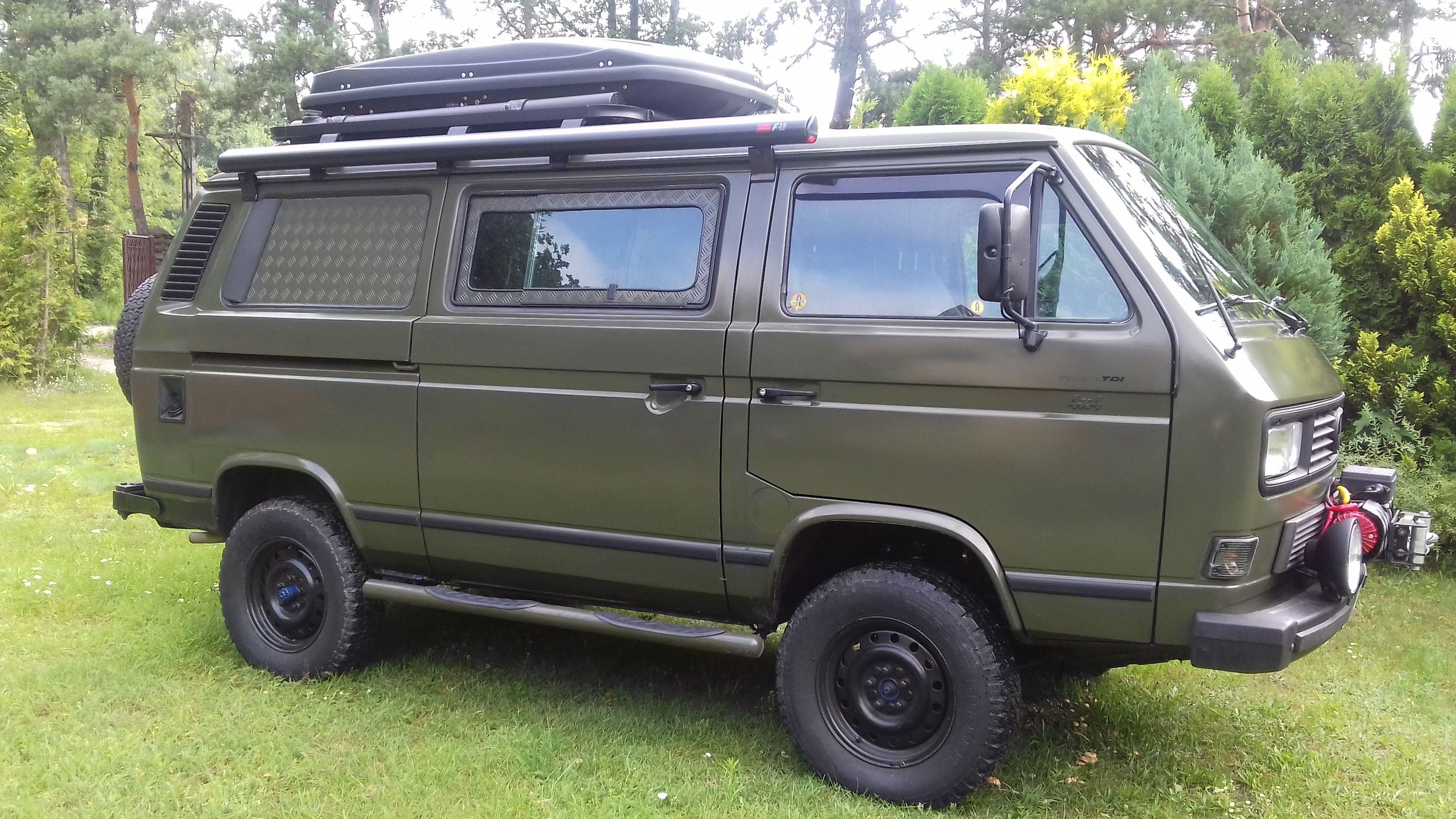 Vw T3 Syncro 1 9tdi Camper Mit Zwei Sperre Und Decoupler Forst61 Interia Pl Vw Vanagon Vw Van Vw Bus T3