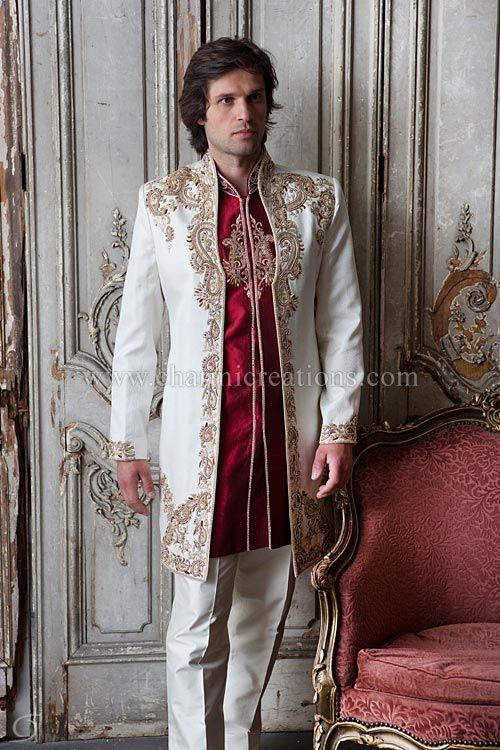 charmi creations | All things men | Pinterest | Wedding sherwani ...